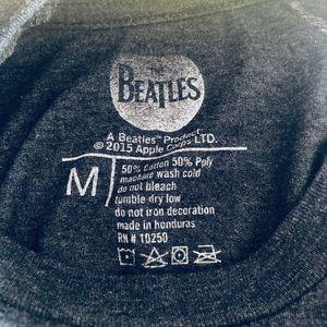 0f648eb1e7153a The Beatles Shirts - The Beatles UK Flag T-shirt England Band Tee Med.